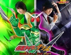 Kamen Rider W - One of the best Tokusatsu dramas ever! Add this to your dramalist at: http://mydramalist.com/japanese-drama/2546/kamen-rider-w