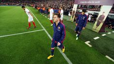 Messi before the game against Sevilla / MIGUEL RUIZ-FCB