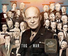 Tug of War   Washingtonian (DC) Washing Dc, Dwight Eisenhower, Past Presidents, Tug Of War, Sign Off, Members Of Congress, World War Ii, Army, Memories