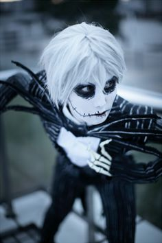 nightmare before christmas cosplay | don't always post cosplay pics but holy Jack Skellington I don't ...