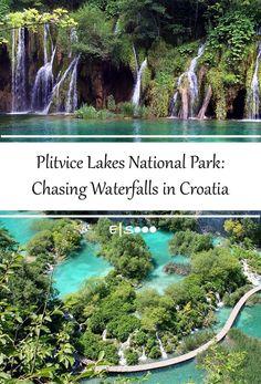 Plitvice Lakes National Park in #croatia