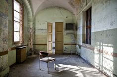 Prison [abandoned mental hospital] by ro_buk [I'm not there], via Flickr