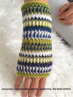 knit sample, Pia Heilä, 6/2016