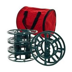 Set of 4 Extension Cord or Christmas Light Reels with Bag