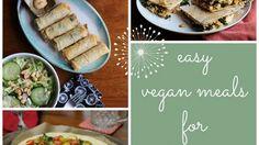 Easy vegan meals for a lazy day. No recipes necessary! | cadryskitchen.com