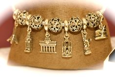 """""""Cities World """" Pandora jewelry Milan Travel bracelet :) maybe in silver though"""