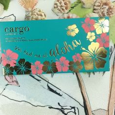 "How gorgeous is our #NEW ""You Had Me At Aloha"" palette!!?  Turn up the volume to hear @anuheajams' song ""Come Over Love,"" some of our favorite weekend chill out music! ☀️ #Cargo #CARGOcosmetics #SS17 #AnuheaJenkins"