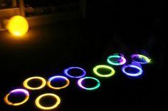 glow in the dark hopscotch