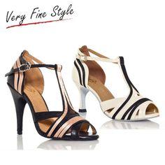 Latin Dance Shoes Women Heels Women Ballroom Shoes Size 5-9 Salsa Tango