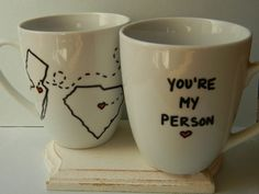 long distance relationship youre my person mug best friend moving away miss you . - Stylist and Craft ideas - Pin this boardm - Help the street animals. Long Distance Friendship, Long Distance Love, Long Distance Relationship Gifts, Long Distance Gifts, Relationship Goals, Relationships, Friend Moving Away, Moving Away Gifts, Youre My Person Mug