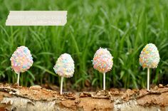 Easter Cake Pop Tutorial will make gluten free