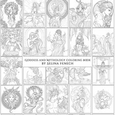 Explore your inner goddess! Discover peace and power through my Goddess and Mythology Colouring Book! https://ift.tt/2JZb1Or