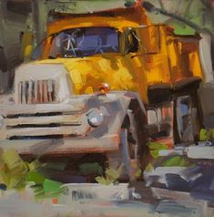 An Original Fine Art Gallery by Daily Paintworks Car Painting, Light Painting, Painting & Drawing, Walt Disney, Truck Art, Paint And Sip, Automotive Art, Fine Art Gallery, Beautiful Paintings
