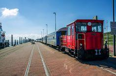 Inselbahn am Westanleger. Foto © Peter Müller (2014)