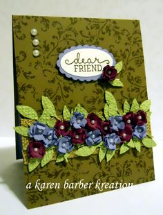 DEAR DOGGIE, DEAR FRIEND by Karen B Barber - Cards and Paper Crafts at Splitcoaststampers