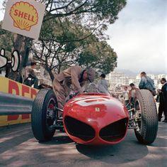 1961 Monaco GP Wolfgang von Trips' Ferrari