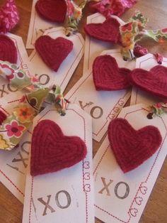 Felt pin Valentines
