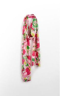 A subtle homage to my favorite Sorority :) Lilly Pulitzer Delta Zeta Scarf (only $118!)