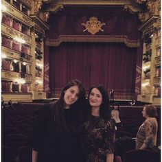 Questa sera a #teatrolascala con @lamimmii e Mr. #robertobolle #ilgiardinodegliamanti #mozart #balletto #quartetto #archi #milano #sipario #platea #springbreak2016 #springbreakathome