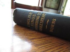 1900 Antique Book The Story of English Kings by BarefootAndCivil