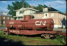 Canadian National (CN) Water Transport Car No Copyright Dated Train Room, Train Car, Train Tracks, Canadian National Railway, Canadian Pacific Railway, Abandoned Train, Abandoned Places, Locomotive, Rr Car