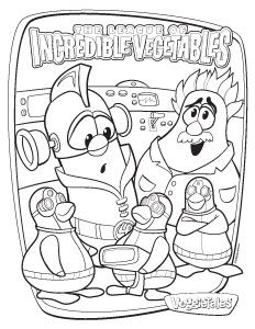 23 Best Veggie Tales Images Colouring Pages For Kids Coloring For