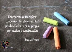 Educar no es transferir conocimiento