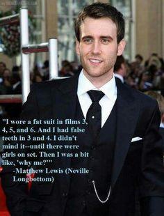 Y me? #mathew Lewis #neville longbottom