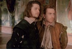 Gary Oldman and Tim Roth in Rosencrantz and Guildenstern Are Dead.