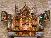Antwerpener Retabel in der Salvatorkirche in Heimbach (Eifel)