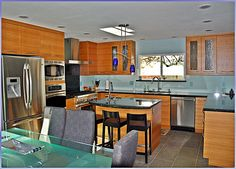 Teak in Foster City Foster City, Teak, Ideal Home, Kitchen Contemporary, Bay Area, Table, Cabinets, House, Furniture