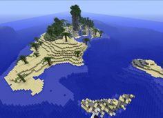 Castaway Island, Minecraft Survival Island Map