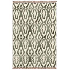 Palmette Chenille Wool Kilim– Special Order