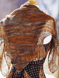 Knit a handy scarf with case - an airy shawl for summer evenings - Canadian Living Quick Knitting Projects, Easy Knitting, Knitting Yarn, Mountain Crafts, Wrap Pattern, Summer Knitting, Knit Wrap, Knit Fashion, Knit Or Crochet