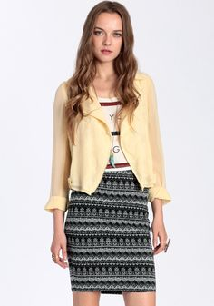 Sweet Escape Skirt By Lucca Couture 59.00 at threadsence.com