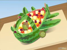 How to Carve a Watermelon Airplane: 7 Steps - wikiHow