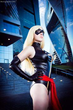 Anna Kathhrine as Ms. Marvel   photography by Eva   cosplay