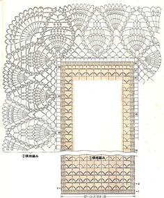 crochet stiches patterns and projectsomg what a beauty - PIPicStatsWith clear patternThis Pin was discovered by Ire Filet Crochet, Crochet Doily Diagram, Crochet Lace Edging, Crochet Wool, Crochet Doily Patterns, Crochet Art, Crochet Stitches, Crochet Table Runner Pattern, Crochet Tablecloth