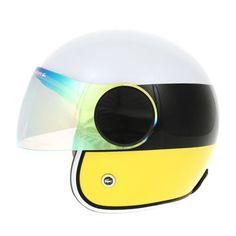 Moto helmet. Coolest one I've  ever seen!!
