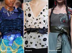 Spring/ Summer 2017 Accessory Trends: Knot-Tied Belts
