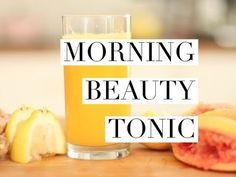 Morning Beauty Tonic