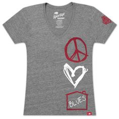 House of Blues Love-Blues Shirt. #HouseOfBlues #LiveNationMerch