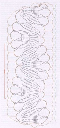 Hairpin lace chart
