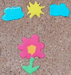 Trucs de Maëliane, le blog.: La recette de la peinture de trottoir qui pétille ( ou peinture craie )