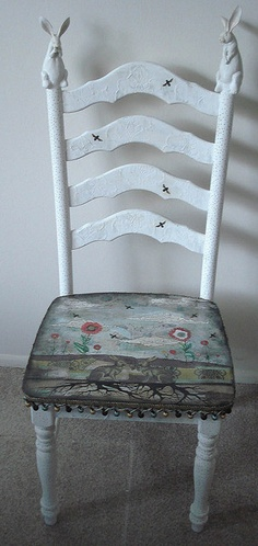 Rabbit Chair by Sarah Ogren...lovely piece for baby's room