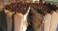 Tiramisu torta French Toast, Goodies, Pie, Breakfast, Ethnic Recipes, Food, Sweet Like Candy, Torte, Morning Coffee