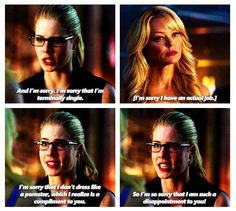 Arrow - Donna and Felicity Smoak #3.5 #Season3 ♥
