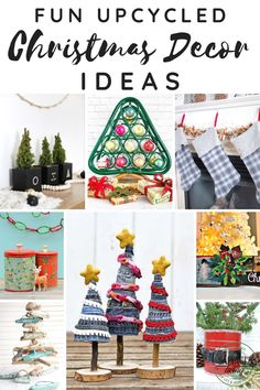 The post Upcycled Christmas Decor Ideas appeared first on Salvaged Living.