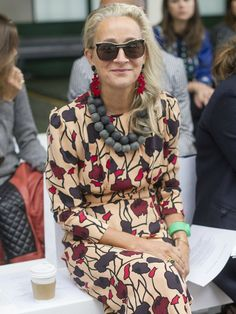 The British Vogue Editor With the Coolest Personal Style via /WhoWhatWear/