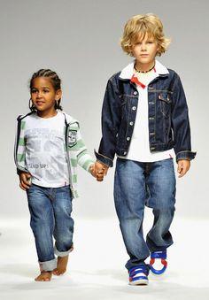Denim and Stripes #posh kids #hipkids www.poshbabycanada.ca
